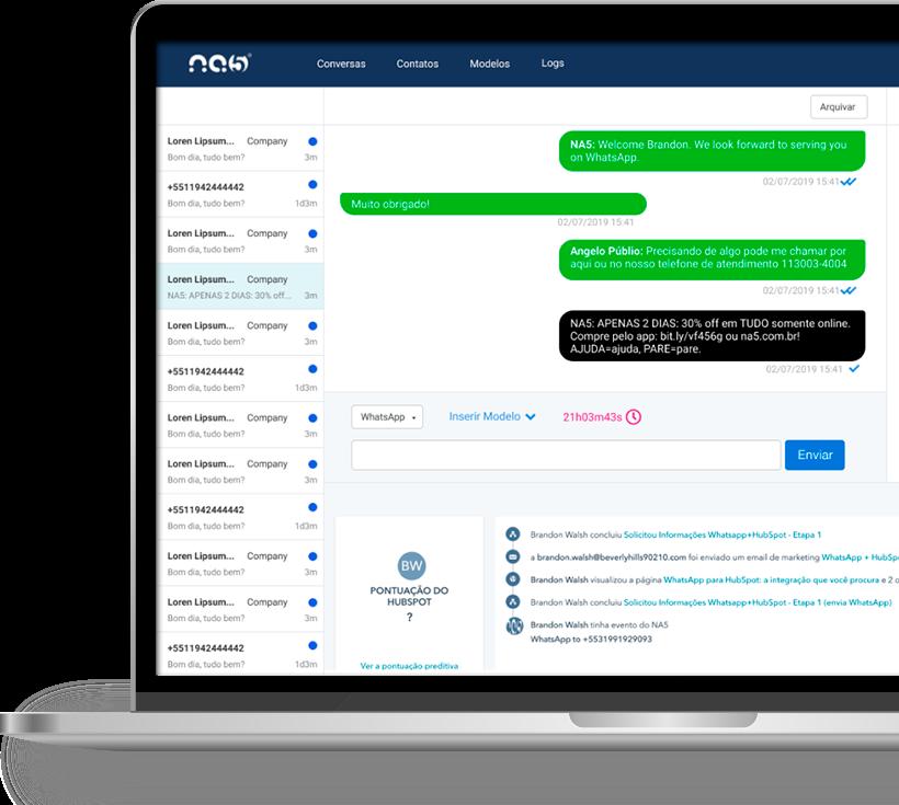 NA5 Conversas - Envie Mensagem na hora certa