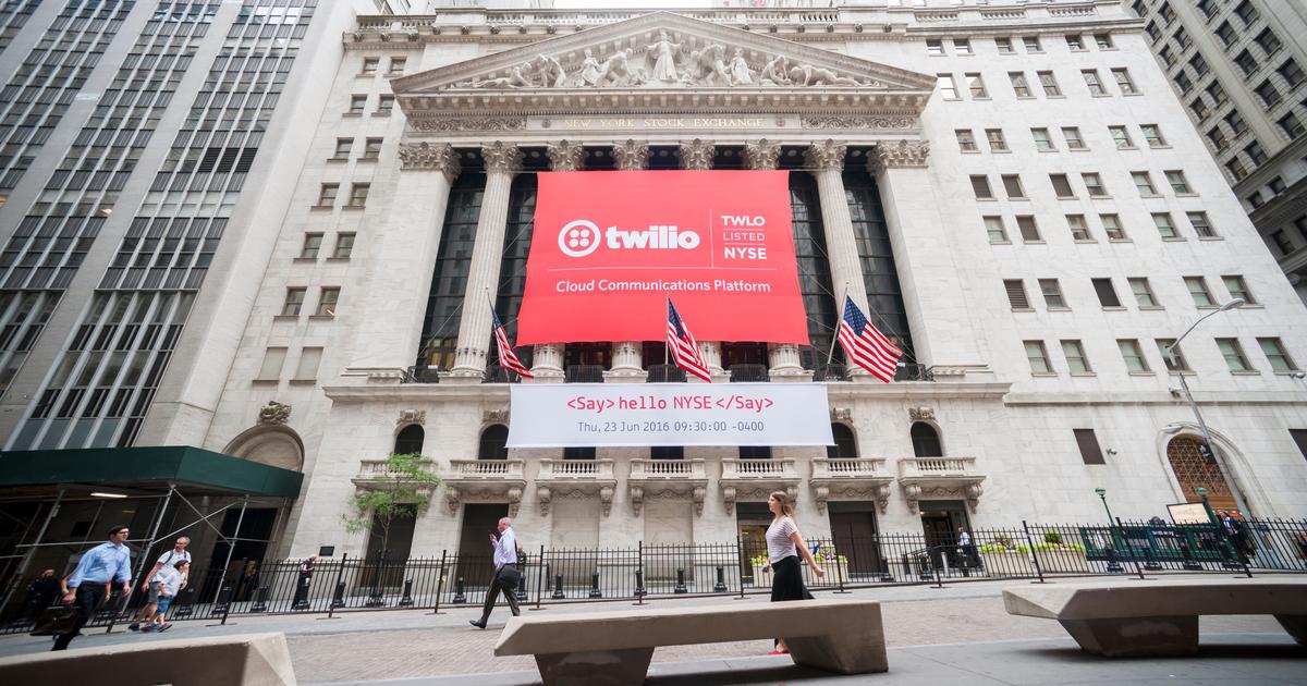 Texto alternativo: Prédio da Twilio, em Nova York.